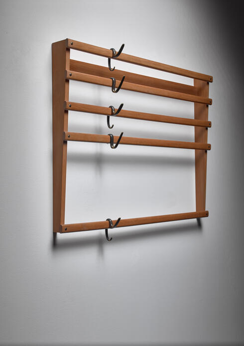 Bloomberry - Carl Auböck coat rack, Austria, 1950s