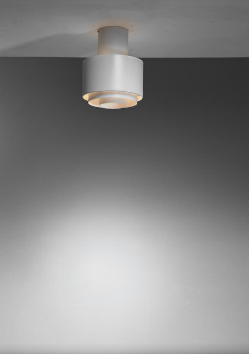 Bloomberry - Paavo Tynell model A2-35 ceiling lamp for Idman, Finland, 1950s