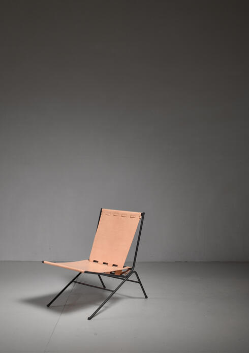 Bloomberry - Allan Gould Lounge Chair, USA, 1950s