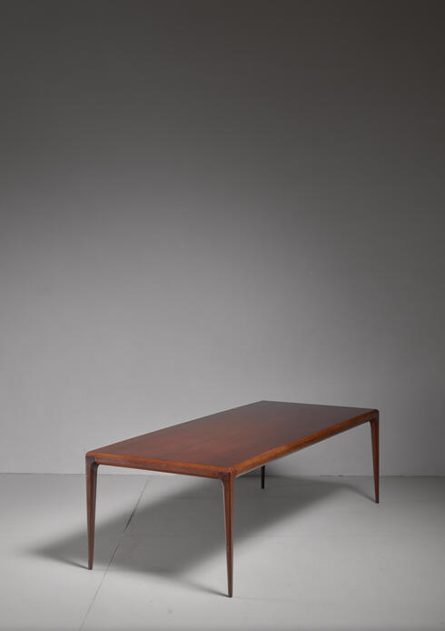 Bloomberry - Johannes Andersen coffee table for CFC, Denmark, 1960s