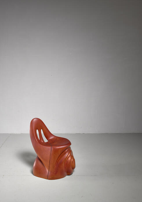 Bloomberry - Studio Crafted Sculptural Chair, 1971