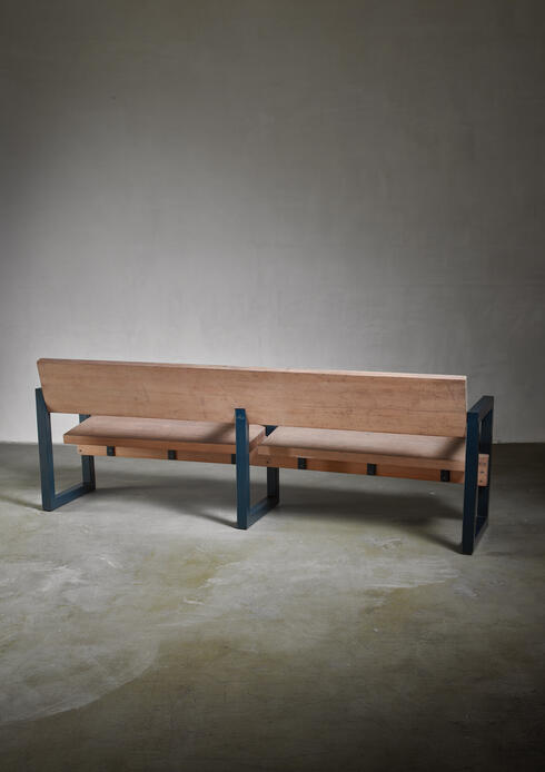 Bloomberry - Gerrit Rietveld Church Pew, Dutch, 1960s