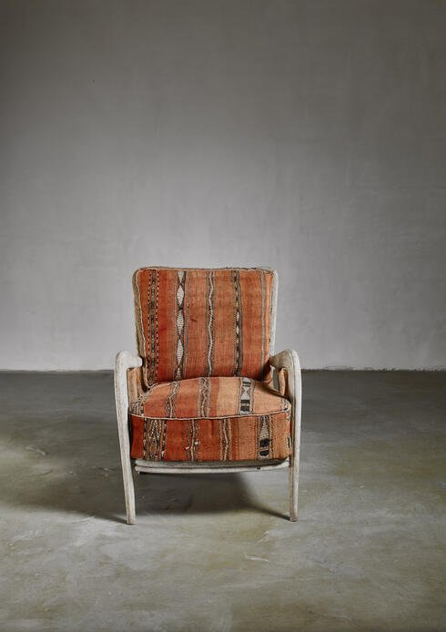 Bloomberry - Guglielmo Ulrich chair, Italy, 1940s