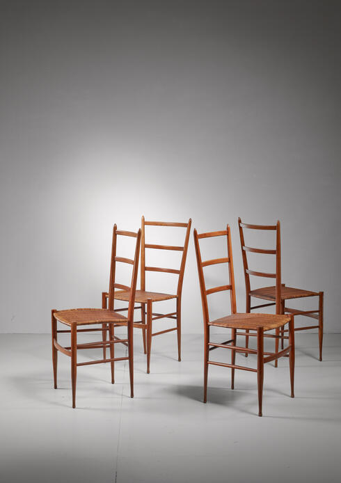 Bloomberry - Set of four Chiavari chairs, Italy