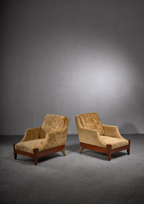 Bloomberry - Melchiorre Bega pair of lounge chairs