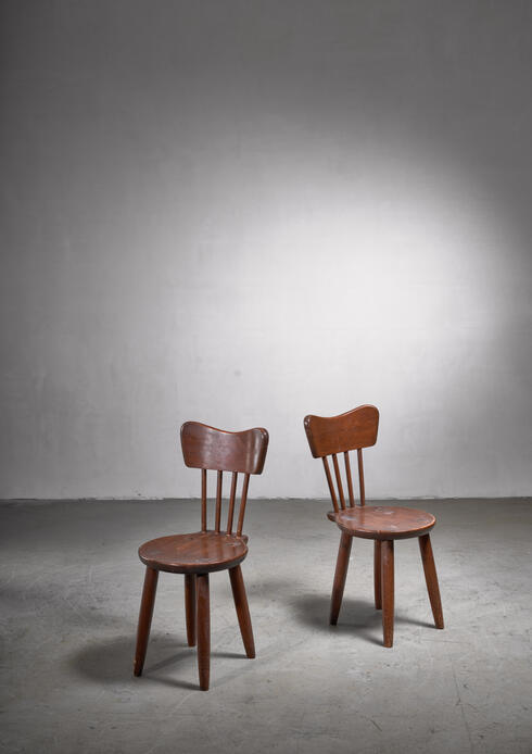 Bloomberry - Pair of Torsten Claeson dining chairs for Steneby