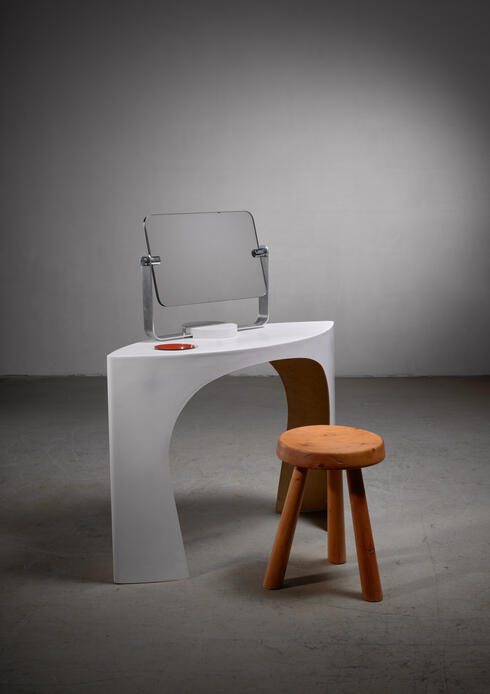 Bloomberry - Charlotte Perriand polyester bathroom console
