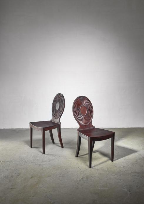 Bloomberry - Thoresen and Roloff pair of side chairs for Nordiska Kompaniet