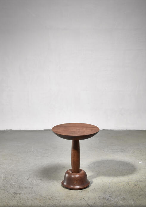 Bloomberry - Qaji Sheer side table by Hosan Zangana