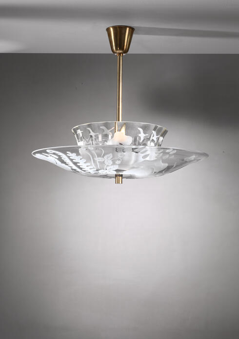 Bloomberry - Bo Notini glass pendant for Glossner