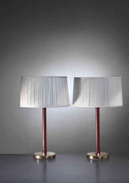 Bloomberry - ASEA pair of model E1251 table lamps
