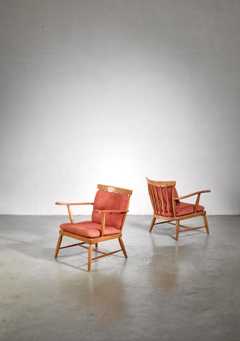 Bloomberry - Pair of Anna-Lülja Praun chairs, Austria