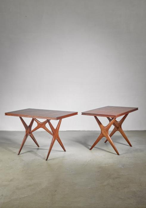 Bloomberry -  Ico Parisi pair of dining or console tables