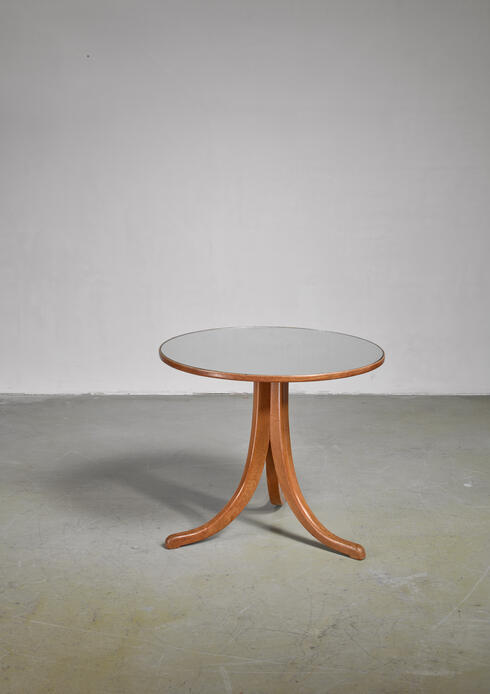 Bloomberry - Josef Frank coffee table with mirror top, Austria, circa 1930
