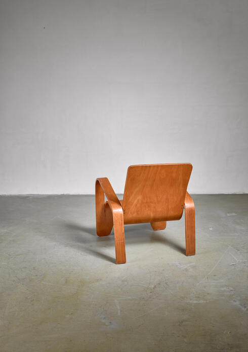 Bloomberry - LaWo chair by Han Pieck, the Netherlands, 1945