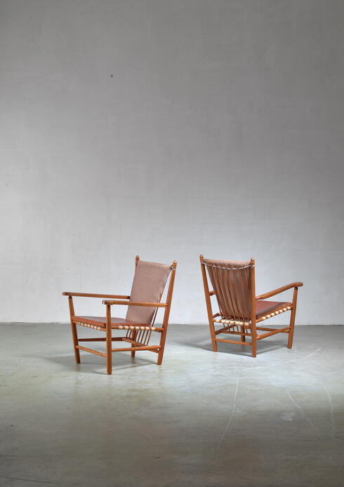 Bloomberry - Albert Haberer pair of armchairs, Germany