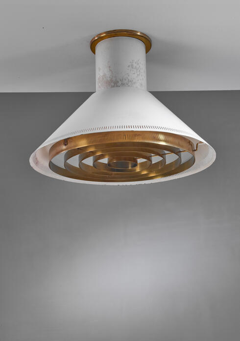 Bloomberry - Paavo Tynell Ceiling Lamp for Taito, Finland, 1940s