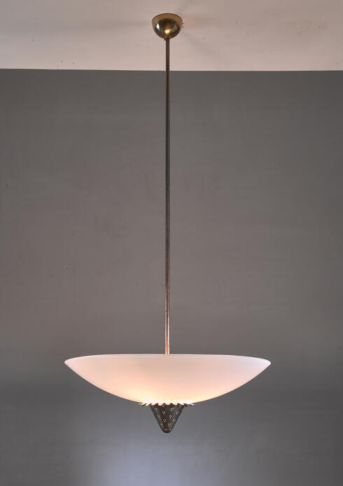Bloomberry - Lisa Johansson-Pape 1090 pendant for Orno, Finland, 1950s