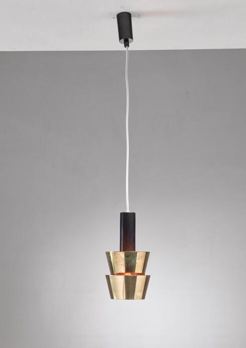 Bloomberry - Itsu Old Stock Brass Pendant, Finland, 1950s