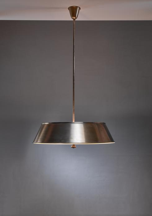 Bloomberry - Harald Notini brass and glass pendant for Bohlmarks
