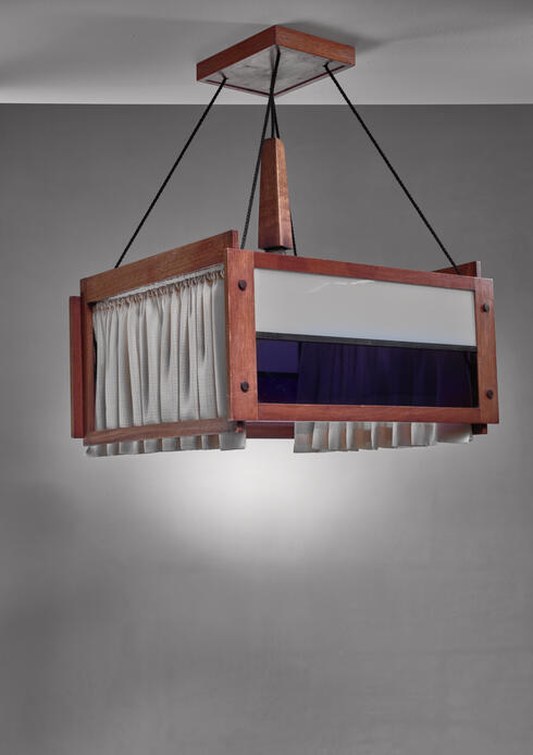 Bloomberry - Frits Spanjaard pendant lamp, Dutch, 1920s