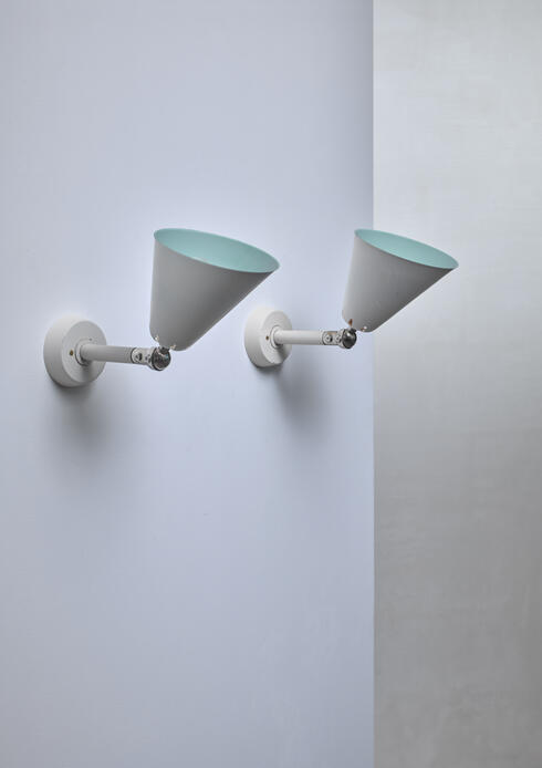 Bloomberry - Asea pair of adjustable wall lamps, Sweden, 1950s