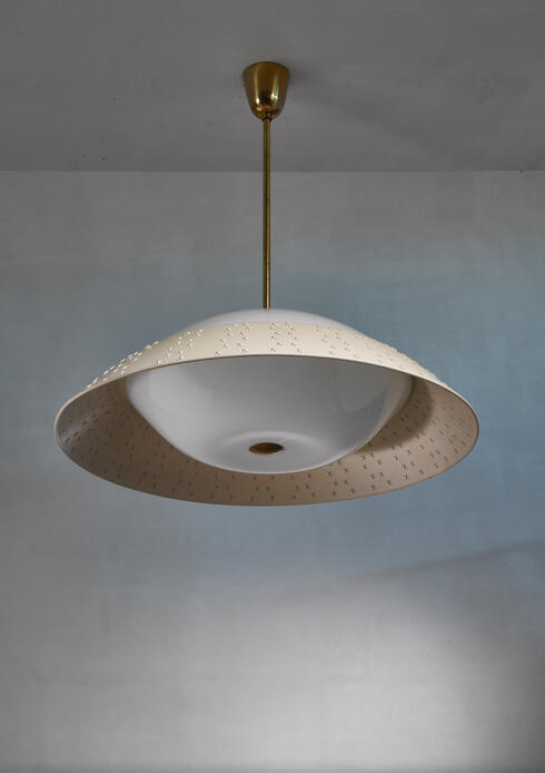 Bloomberry - Large (72 cm / 28.35 inch diameter ) Lisa Johansson-Pape pendant lamp, Finland, 1950s