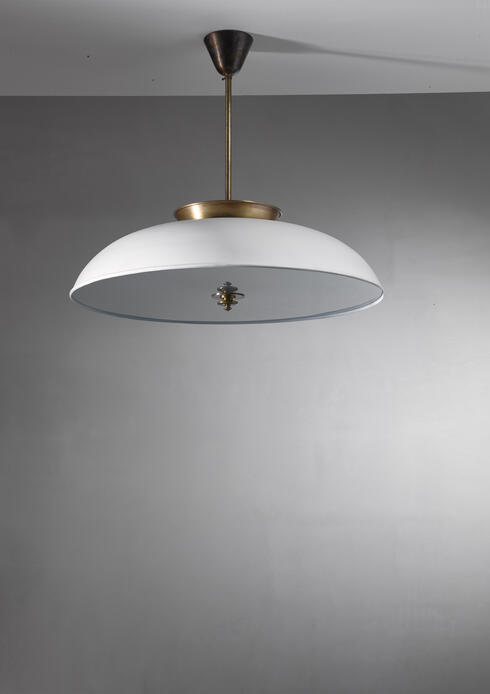 Bloomberry - Large Swedish pendant lamp by Harald Notini, 1930s