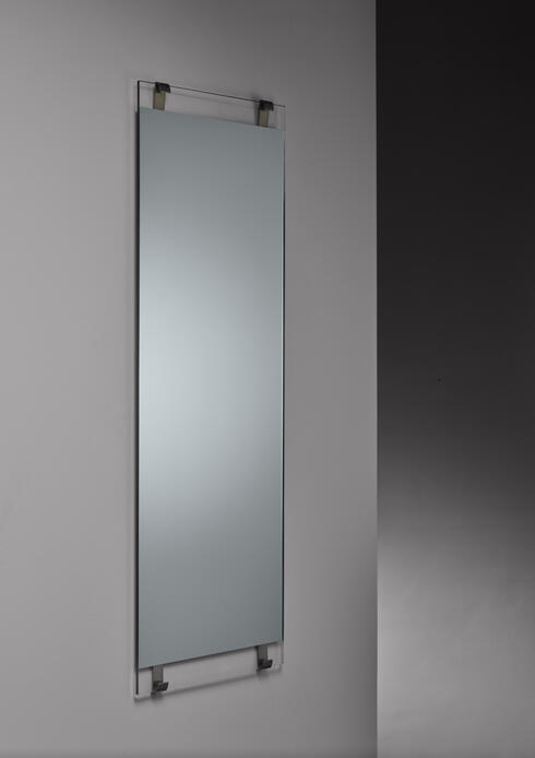 Bloomberry - Carl Aubock rectangular wall mirror, Austria