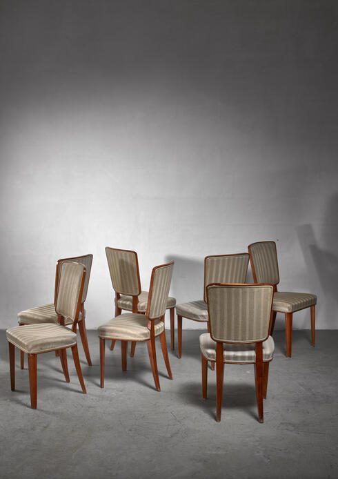 Bloomberry - Carl Cederholm set of seven dining chairs, Sweden