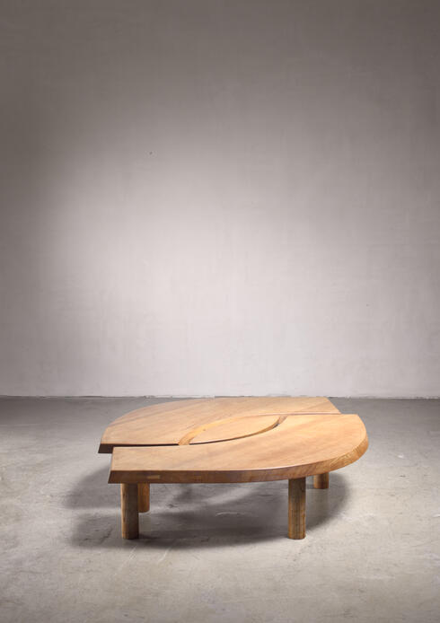 Bloomberry - Pierre Chapo T22 L'Oeil coffee table in elm
