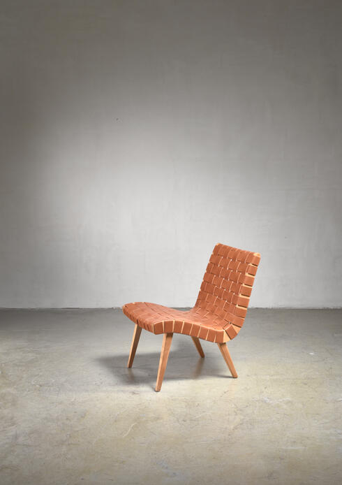 Bloomberry - Jens Risom lounge chair for Knoll