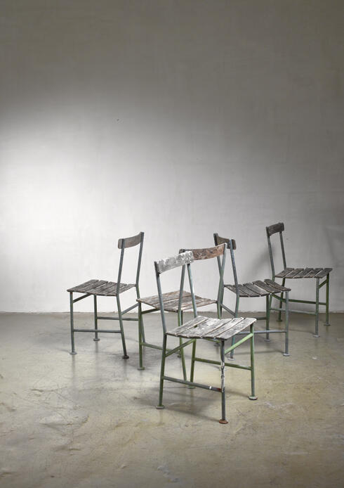 Bloomberry - Gunnar Asplund set of 5 garden chairs