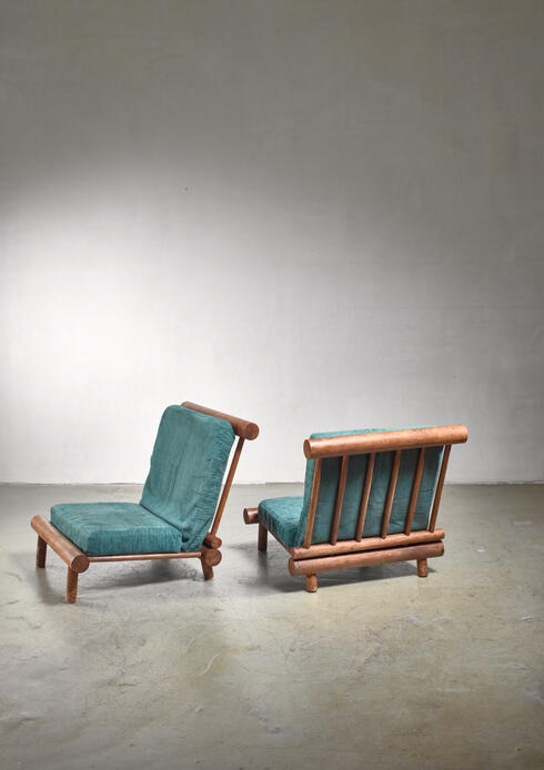 Bloomberry - Charlotte Perriand chairs from Les Arcs