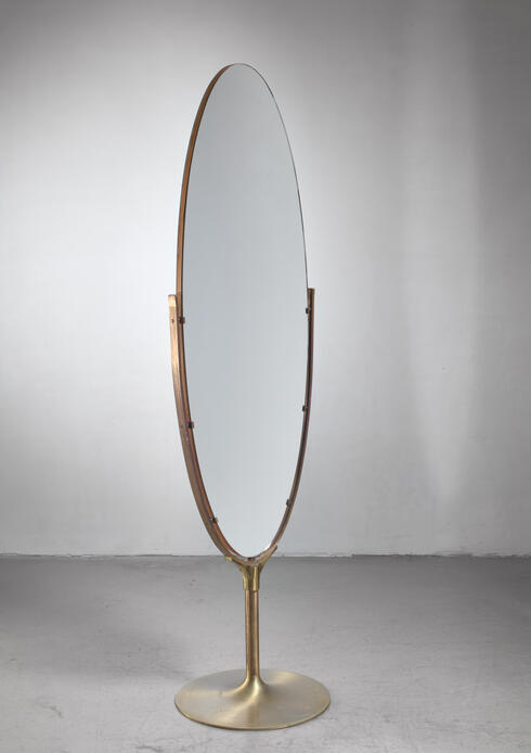 Bloomberry - Very large (187 cm high) floor mirror