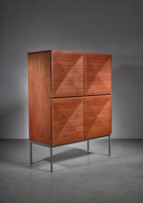 Bloomberry - One of two 'Pointe de Diamant' sideboards / highboards by Antoine Philippon and Jacqueline Lecoq