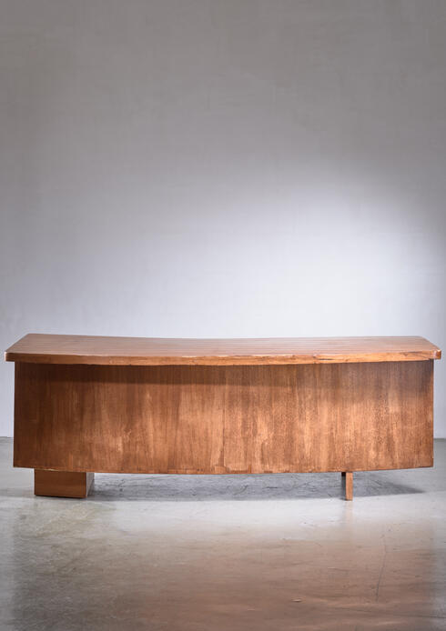 Bloomberry - Pierre Jeanneret senior officer's desk from Chandigarh