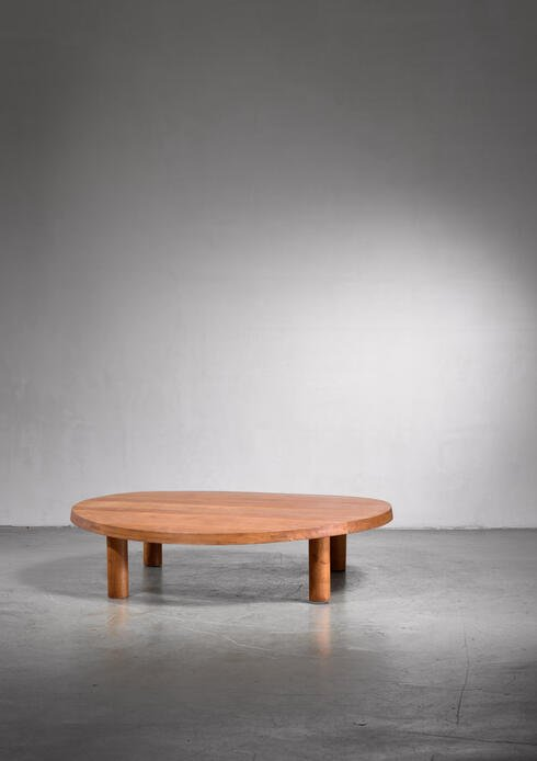 Bloomberry - Pierre Chapo low and large T02 coffee table