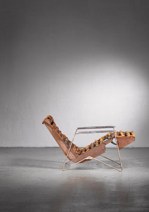 Bloomberry - Ernesto Hauner chaise longue, Brazil, 1950s