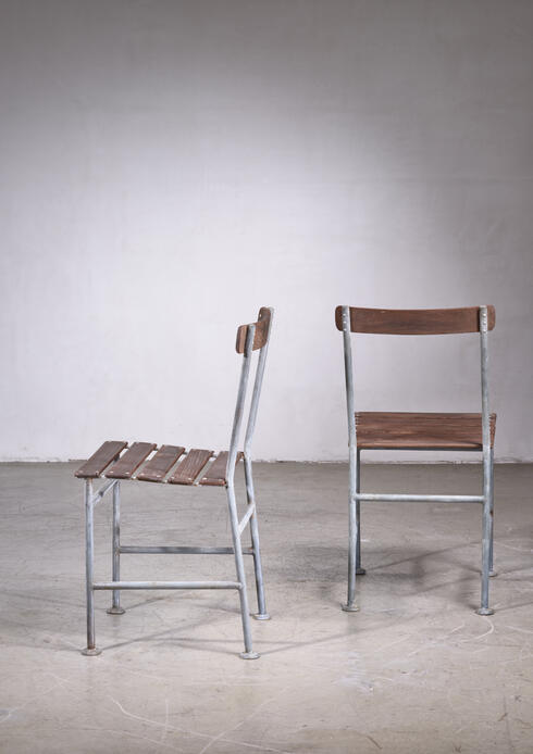 Bloomberry - Gunnar Asplund Pair of Garden Chairs