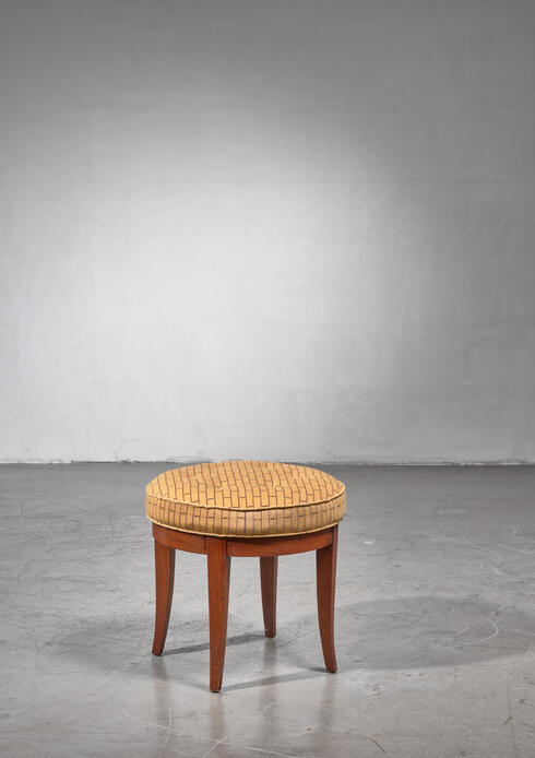 Bloomberry - Paul Frankl Stool, USA, 1944