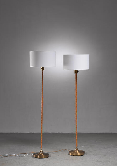 Bloomberry - Einer Backstrom pair of floor lamps, Sweden