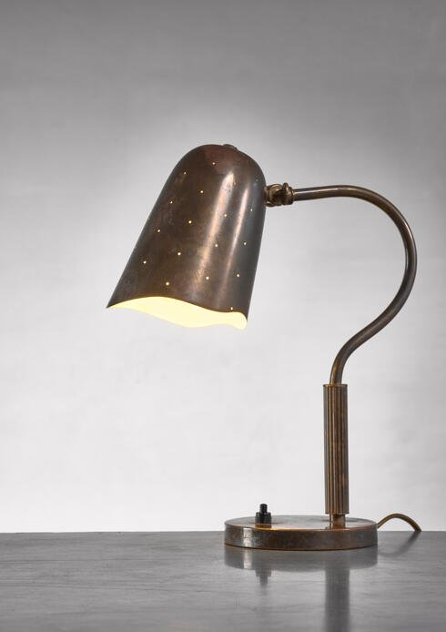 Bloomberry - Borens Boras brass table lamp