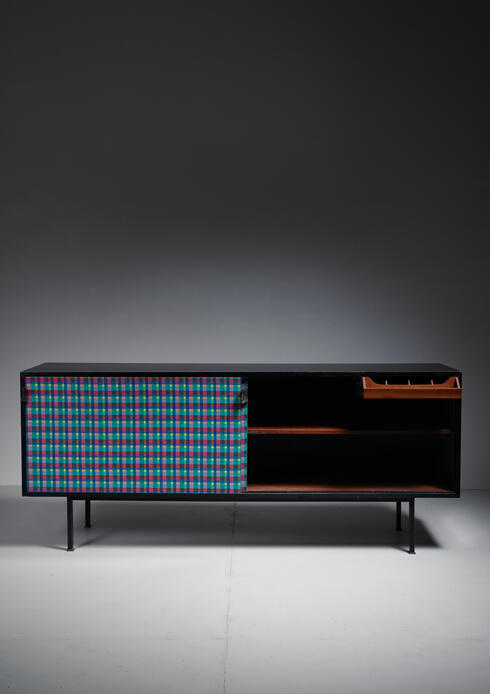 Bloomberry - Florence Knoll Custom-Made Sideboard, France, 1965