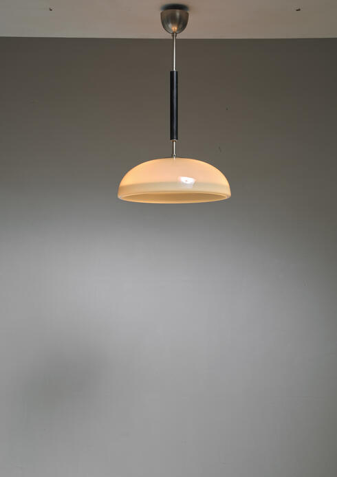 Bloomberry - Swedish Opaline Glass Pendant