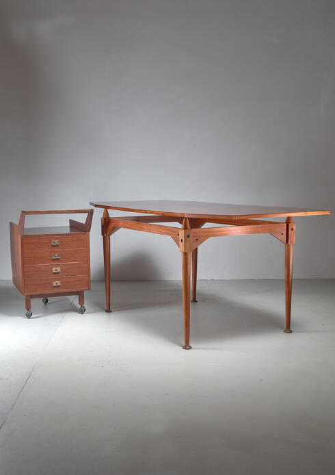 Bloomberry -  Franco Albini TL3 desk for Poggi, Italy, Early 1950s