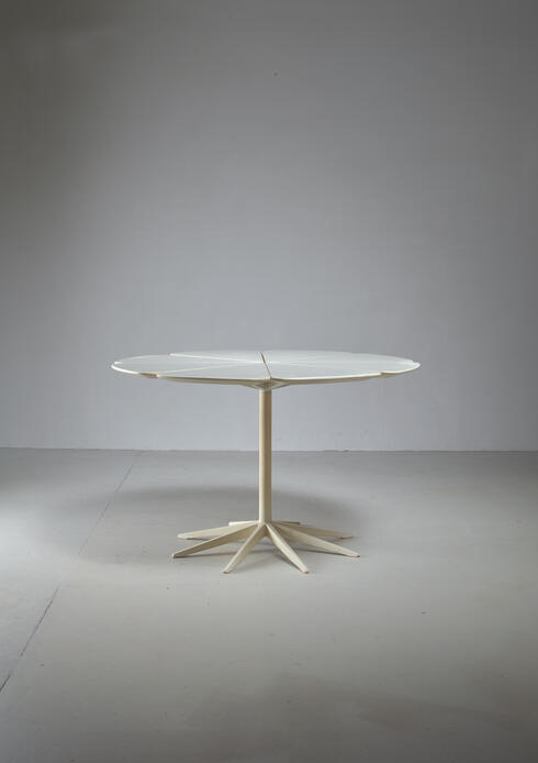Bloomberry - Richard Schultz Petal Coffee Table in White for Knoll, USA, 1960s