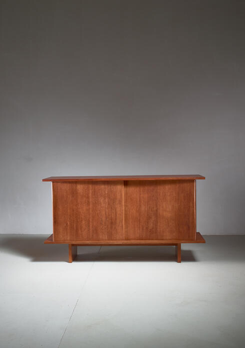 Bloomberry - Unique French Modernist Oak Sideboard, France, 1952
