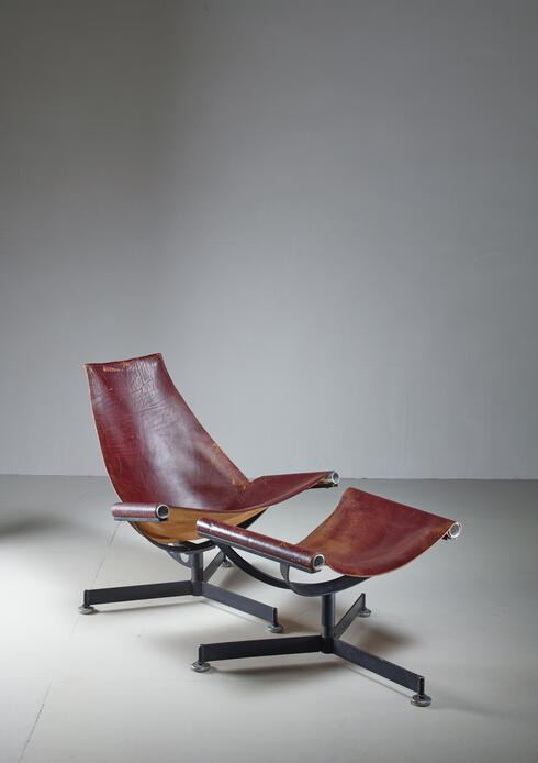 Bloomberry - Max Gottschalk Lounge Chair with Ottoman, USA, 1960s