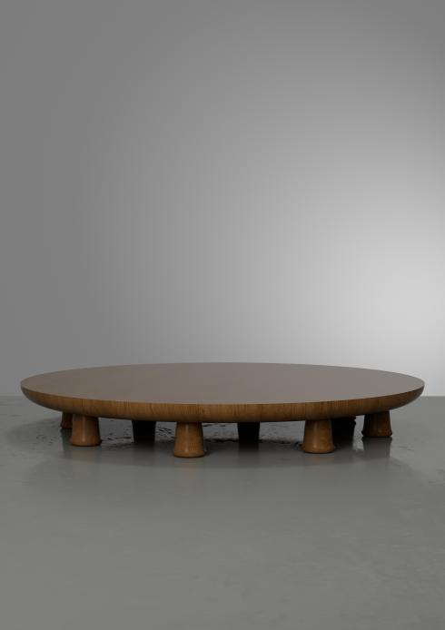 Bloomberry - Sëber coffee table in oak by Hozan Zangana, Dutch, 2020